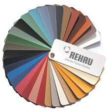 Rehau - цветове